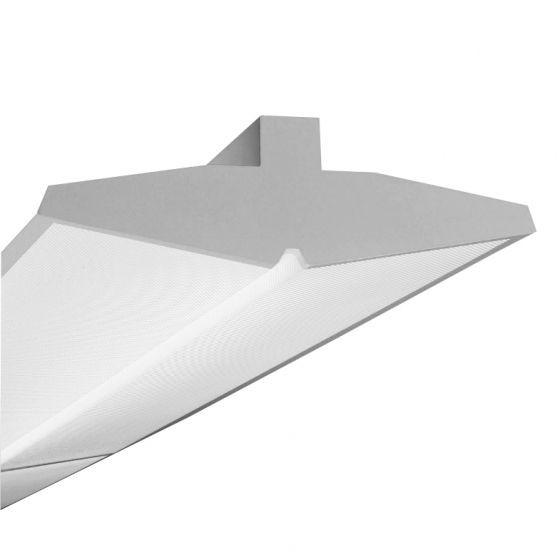 Finelite Series 15 Fluorescent Wall Mount Sconce Fixture S15WM-8