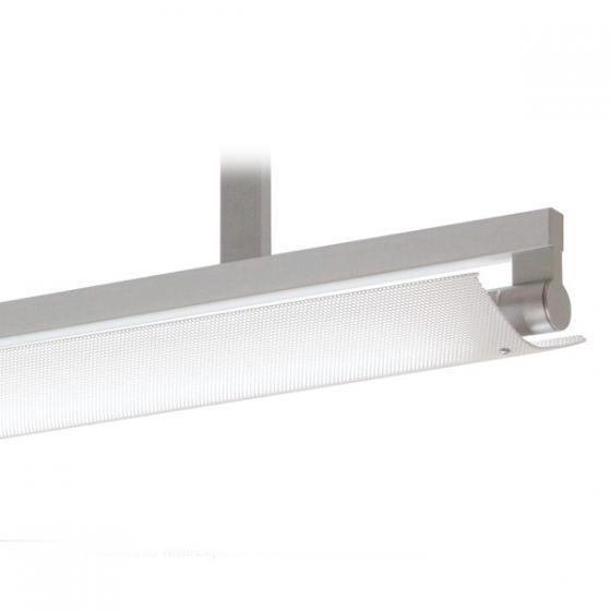 Delray 13 Series Stick T5 Single Lamp Ceiling Stem Mount Fluorescent Pendant