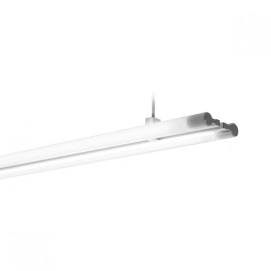 Delray Swing 21 Series T5 Fluorescent Double Lamp Pendant / Surface Mount Fixture