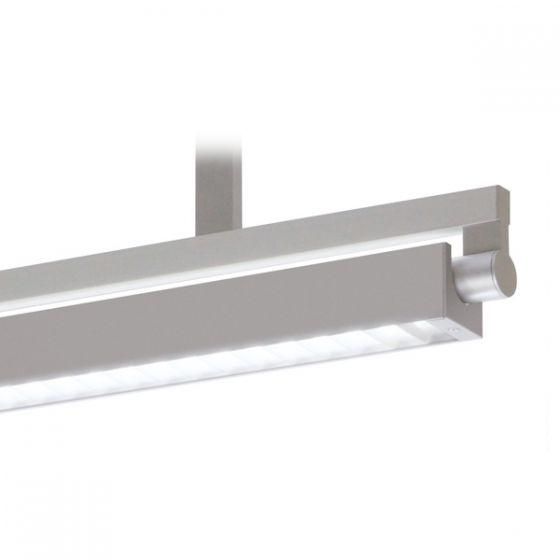 Delray 30 Series Stick T5 Single Lamp Ceiling Stem Mount Fluorescent Pendant