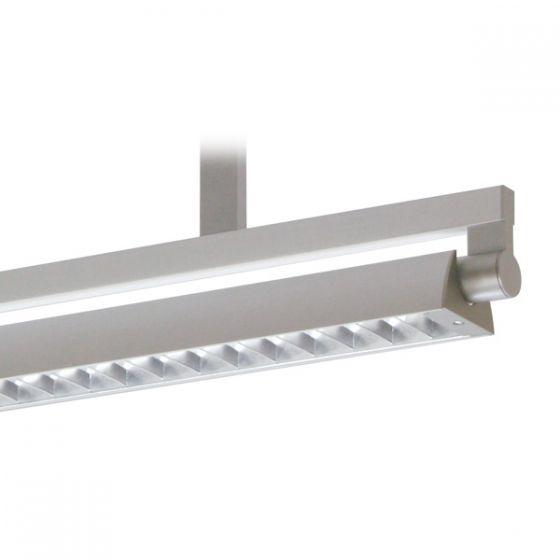 Delray 40 Series Stick T5 Single Lamp Ceiling Stem Mount Fluorescent Pendant