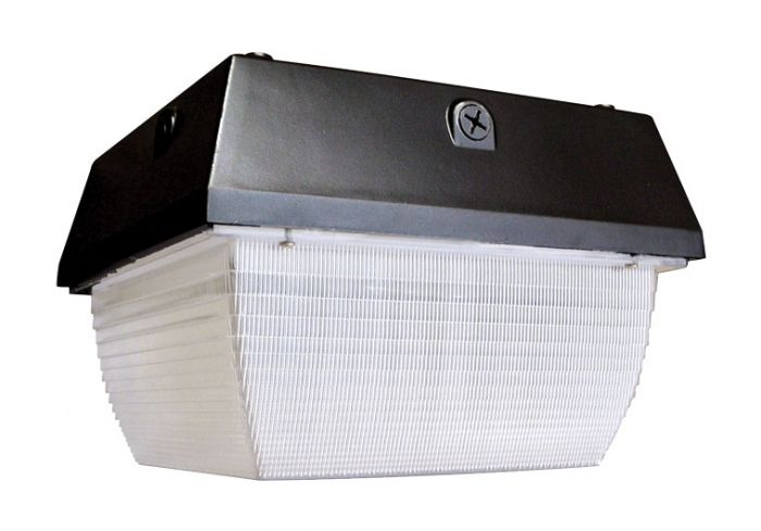 Alcon Lighting 16004 Opto Architectural LED Square Canopy Direct Down Light
