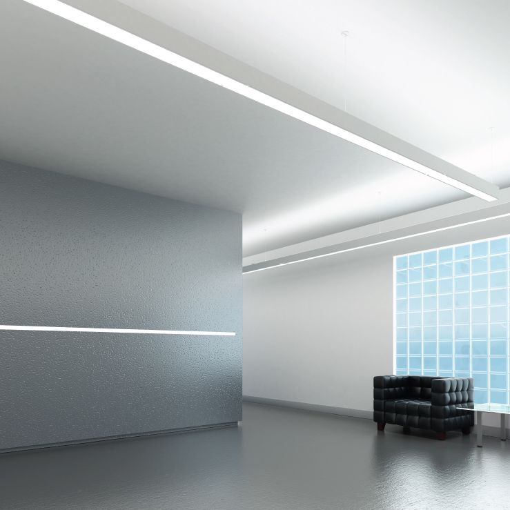 Cooper Neo Ray 23dp Led Architectural Led Recessed Ceiling