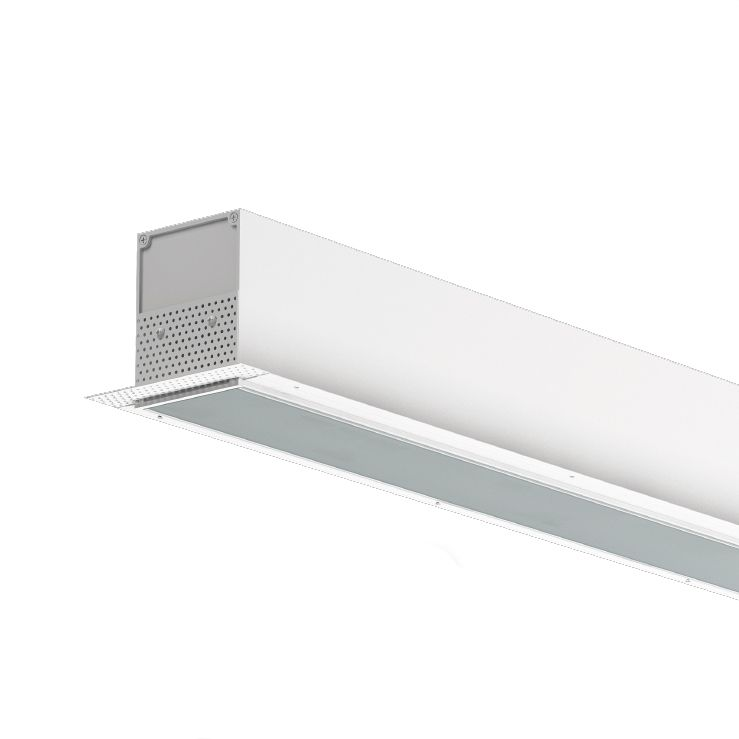 50w Led Shop Pendant Light Fixture Strip Linear Ceiling: Cooper NEO-RAY 23DP-LED Architectural LED Recessed Ceiling