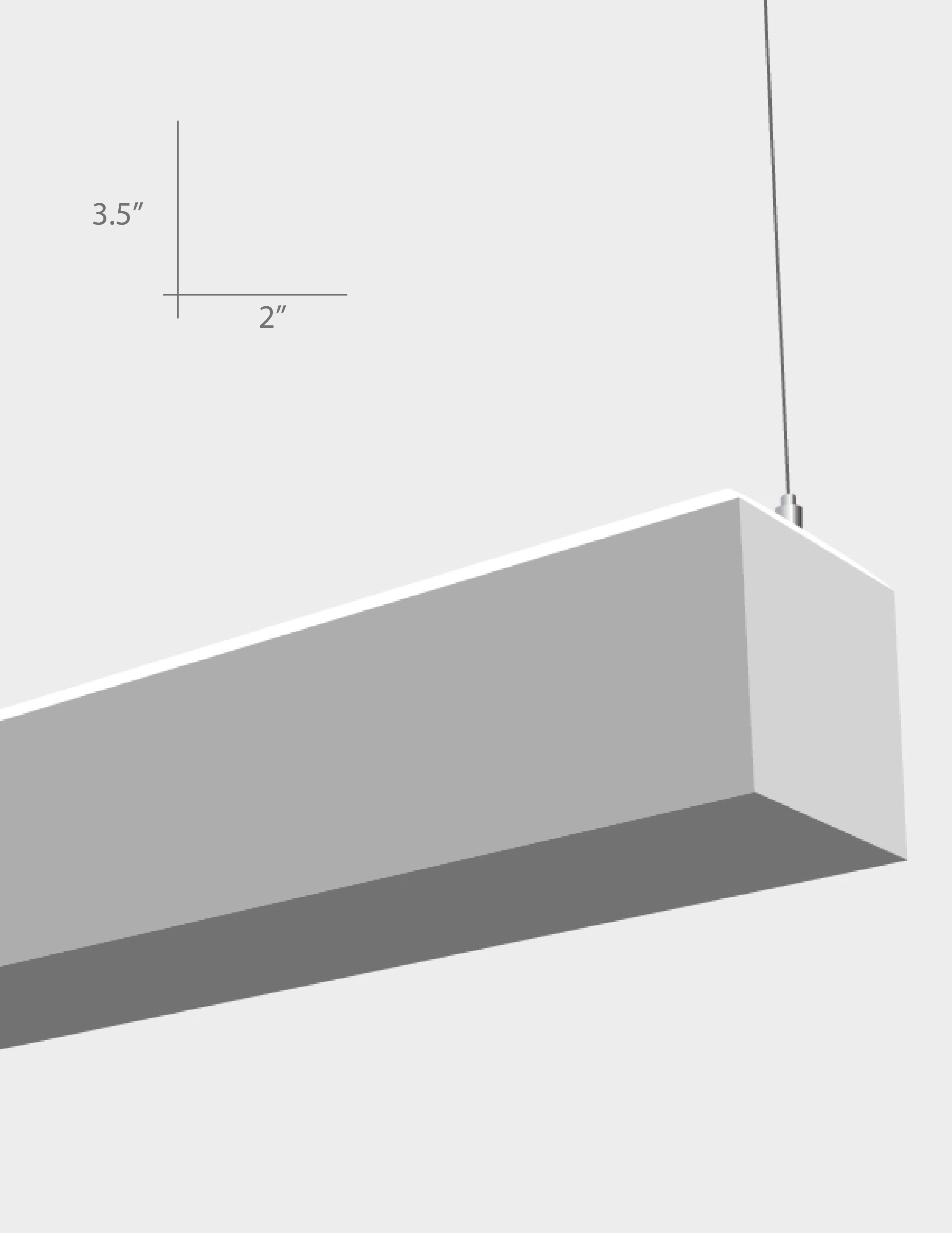 Alcon Lighting 12104 4 U Beam 23 Series Architectural Led 4 Foot