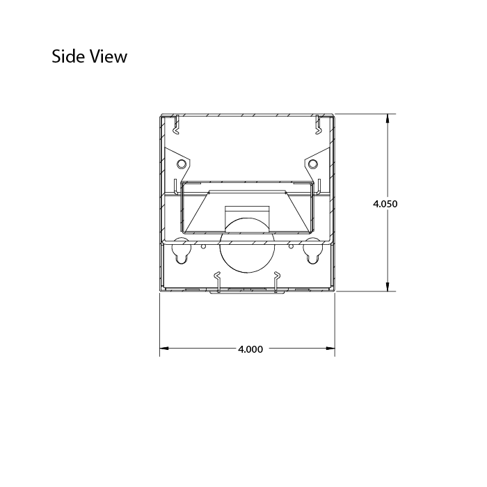 Alcon Lighting Beam 44 Cross Series 12107 2X 4 Inch