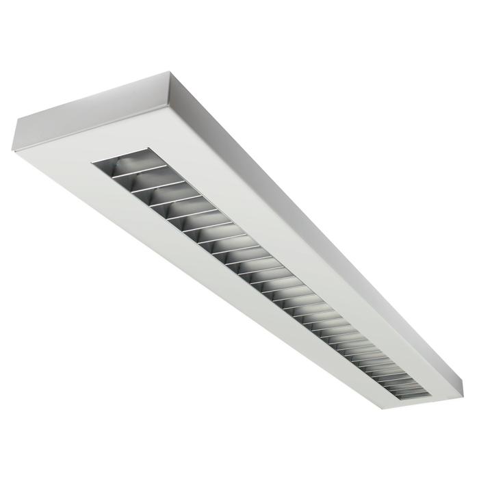 Fluorescent Light Housing: LSI Industries HRZ-4-RPL LiniArc Horizon Housing Parabolic
