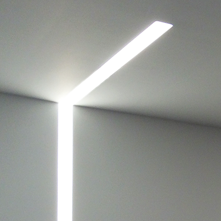 Nulite Lighting Regolo Rt2 Trimless Series Led 2 Inch Linear