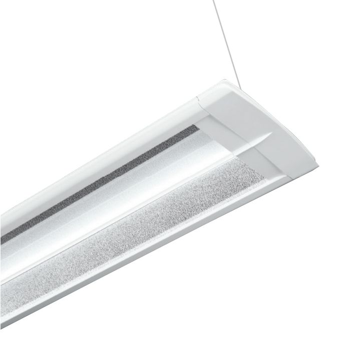 Cooper Lighting Corelite Wavestream Divide Suspended Mount Led Light Fixture Office Lications