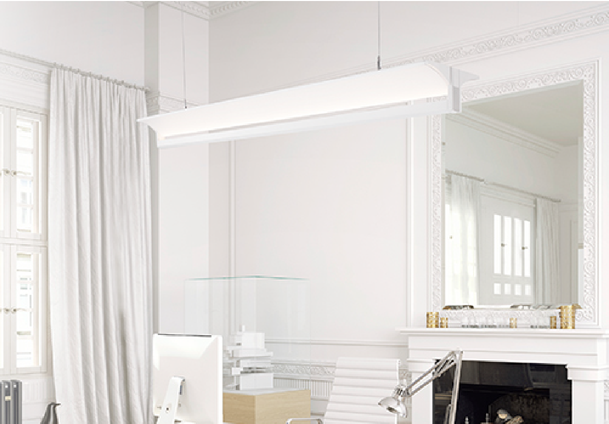 indirect ceiling lighting. Alcon Lighting 12126 Tee Beam Architectural LED Linear Suspended Pendant Mount Indirect Up Light Fixture Ceiling