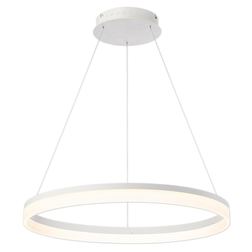 Soho Bar Pendant With 3 Opal White Glass Lights Supended: Alcon Lighting 12244 Bandini Large 31.5 Inches