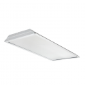 Alcon Lighting 14043 iLED Architectural LED 1x4 Lensed Static Recessed Mount Direct Light Troffer