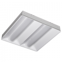 Alcon Lighting 14059 RTLED Architectural LED 2x2 Dual Basket Recessed Direct Light Troffer