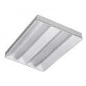 Alcon Lighting 14060 RTLED Architectural LED 2x4 Dual Basket Recessed Direct Light Troffer