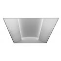 Alcon Lighting 14082 Prestige Architectural LED 2x4 Recessed Side Basket Direct Light Troffer