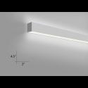 Alcon Lighting Beam Wall Mount 10102 Fluorescent Light Fixture - Direct / Indirect