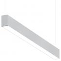 Alcon Lighting 10101-4 Beam Series 4 Foot Fluorescent Suspended Pendant Direct/Indirect Light Strip