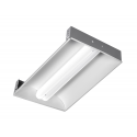Alcon Lighting 14033 Aces Architectural LED 2x4 Recessed Center Basket Ribbed Direct Light Troffer