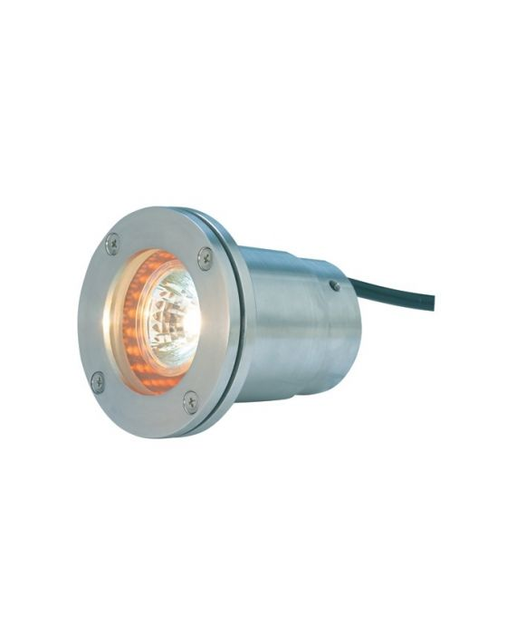 Alcon Lighting 9105-SS Baldwin Architectural Landscape LED 4 Inch Low Voltage Drive-Over Rated Marine Grade Well Light