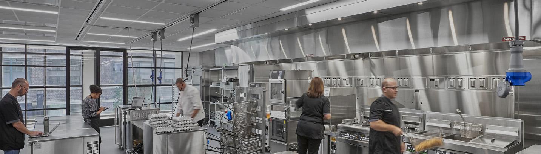 Commercial-Grade Industrial Kitchen Lighting